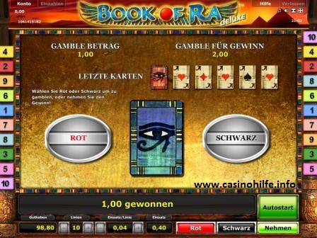 online casino euro book of ra knacken
