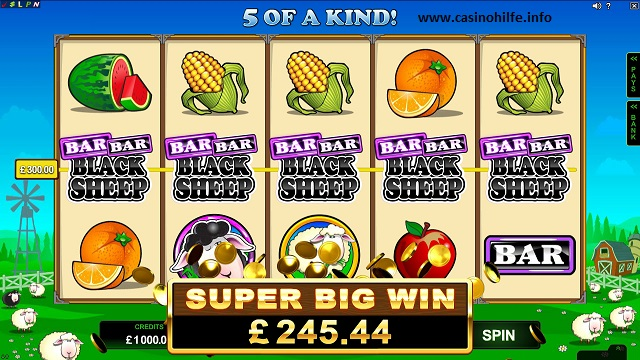 Bar Bar Black Sheep slot - spil online gratis